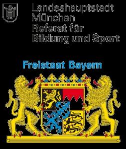 """""""Gefördert durch die Landeshauptstadt München und den Freistaat Bayern"""""""